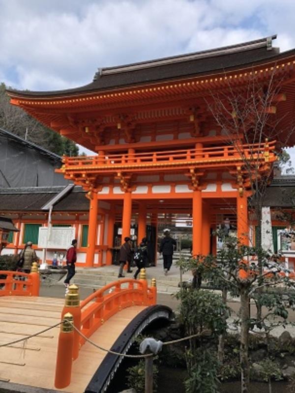上賀茂神社で厄除け大根